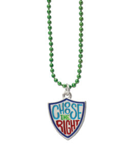 RM - Necklace - Choose The  Right Shield Necklace <BR>ネックレス - 正義を選ぶ(盾)