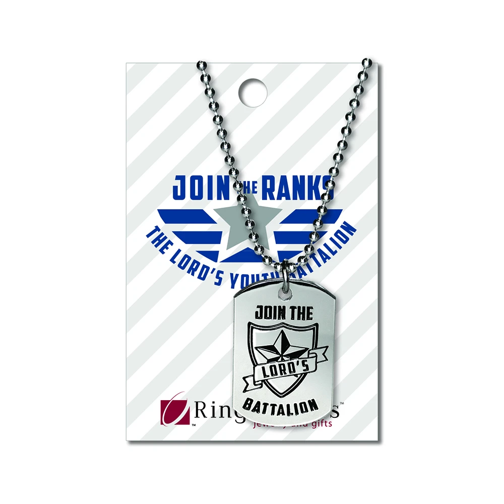 RM - Necklace - Youth BattalionDog Tag<BR/> ユース主の大隊ドックタグネックレス