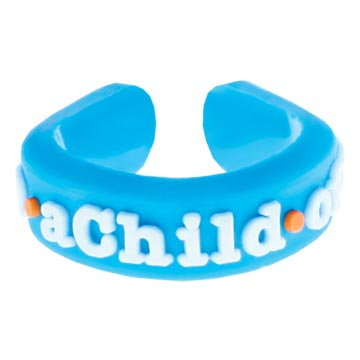 RM - Adjustable Ring - I am a Child of God Adjustable Ring<BR>(サイズ調整できる)リング - かみのこです