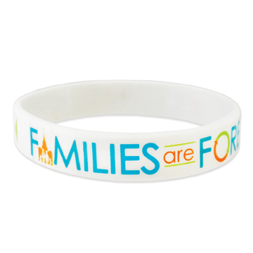 RM - Bracelet - Families are Forever Medium Silicone Wristband<BR>ブレスレット - 家族は永遠です