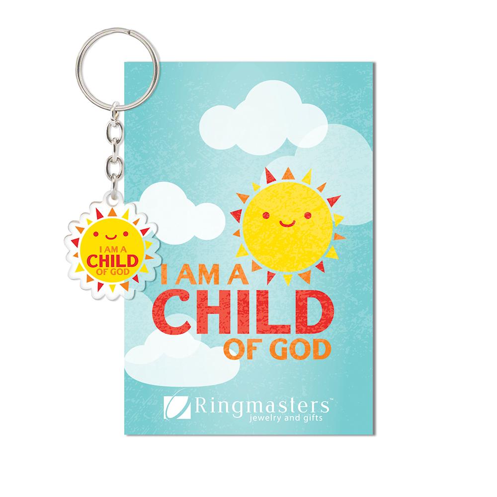 RM - Key Tag - Child of God Key Tag<BR>キーリング - かみのこです(太陽)