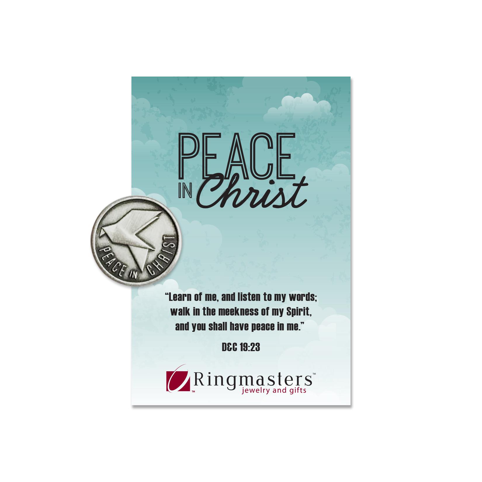 RM - Pin - Peace in Christ Pin <BR>ピンバッヂ キリストによって平安を得る