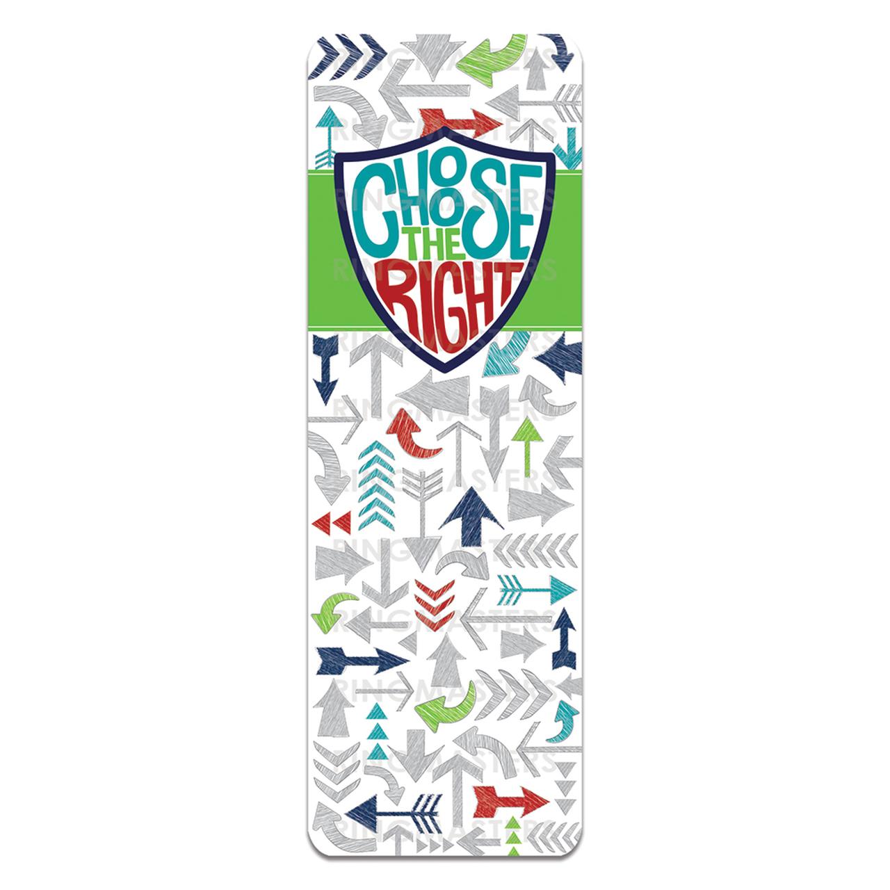 RM - Bookmark - Choose the Right Bookmark<BR>「正義を選ぶ」- ブックマーク 【日本在庫限り】