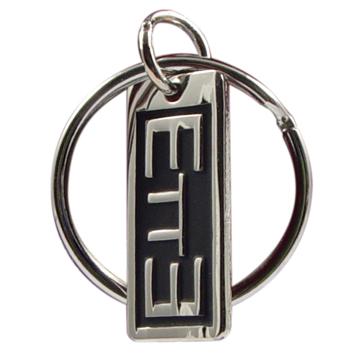 RM - Zipper Pull - ETTE Silver Finish<BR> ファスナーチャーム 「最後まで堪え忍ぶ」【日本在庫商品】