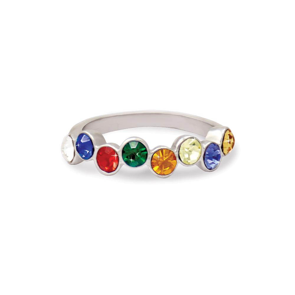 (サイズ限定US 5.0)RM - Ring - YW Prism Ring (Stainless steel)<BR> リング - 若い女性 プリズム (ステンレス製) 【日本在庫商品】