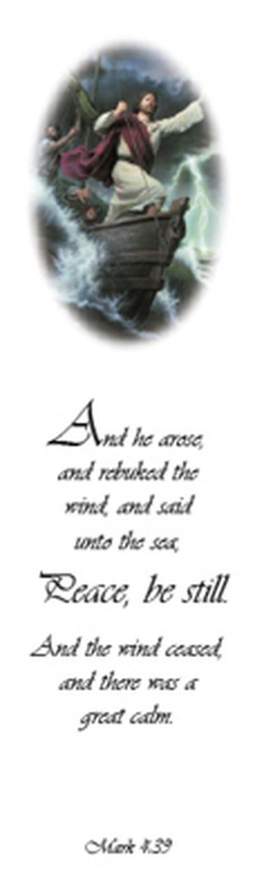 AF - Bookmark - Peace, Be Still by Simon Dewey - 「静まれ」 - しおり