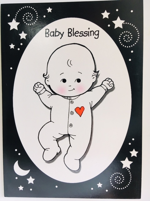 CF - Greeting Card (with Envelopes) - Baby Blessing<BR>カード(封筒付) - 赤ちゃんの祝福 【在庫限り】