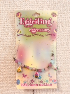 SZ - Necklace - Easter Kid'S Charm Necklace  イースターネックレス (こども用) 【在庫限りあと7点】