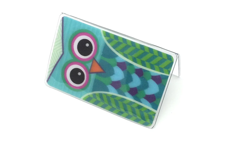 CF - Temple Recommend Holder - Owl - Temple Recommend Holder - 3D<BR>神殿推薦状ケース「フクロウ」3D