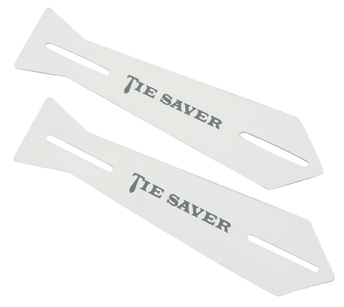 RM -  Tie Saver -  White Tie Saver (2 pack)<BR>ネクタイセーバー(白) (2個セット)
