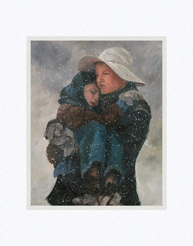 AF -11×14 Print - James Kirkwood: Brother's Keeper / 11x14 matted/ Judy Cooley / 兄弟の番人 11×14 マットプリント