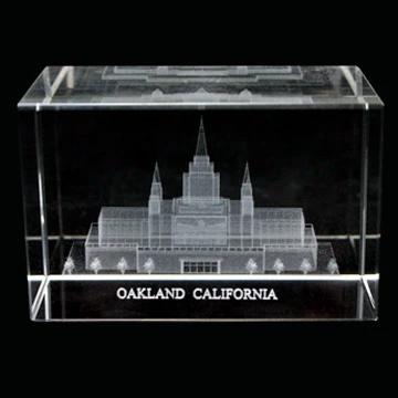RM - Temple Crystal Cube - Oakland California  <BR/>「カリフォルニア州 オークランド神殿」クリスタルキューブ