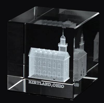 RM - Temple Crystal Cube - Kirtland Ohio   <BR/>「オハイオ州 カートランド神殿」クリスタルキューブ