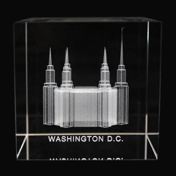 RM - Temple Crystal Cube - Washington D.C <BR/>「ワシントン D.C神殿」クリスタルキューブ