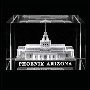 RM - Temple Crystal Cube - Phoenix Arizona  <BR/>「アリゾナ州 フェニックス神殿」クリスタルキューブ