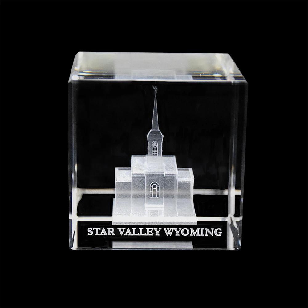 RM - Temple Crystal Cube - Star Valley Wyoming <BR/>「ワイオミング州 スターバレー神殿」クリスタルキューブ