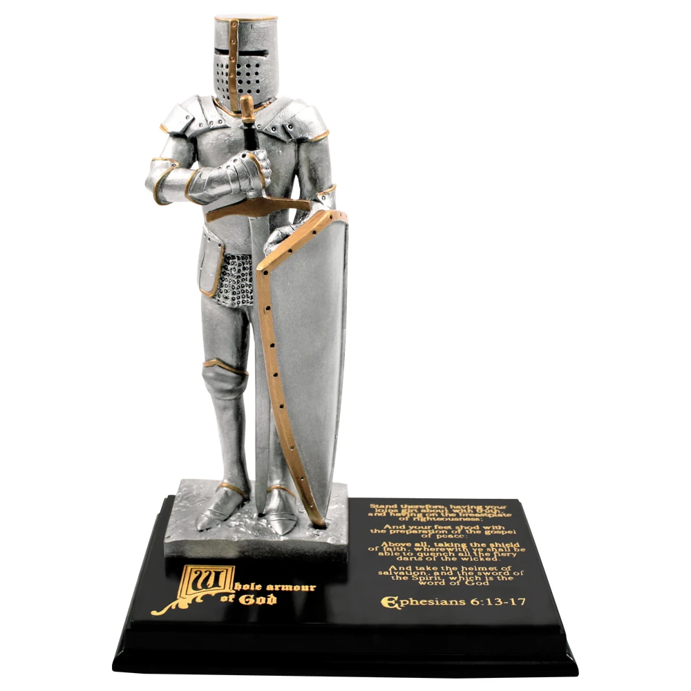 "RM - Statue - 9"" Armour of God Resin Statue <BR/>「神の武具」置物(樹脂製)"