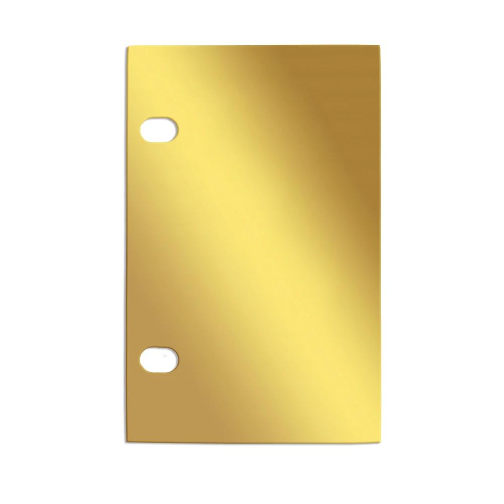 RM - Golden Plates - Golden Challenge Plates Display Blank Plate<BR/>モルモン書読書チャレンジ金版 ブランクプレート