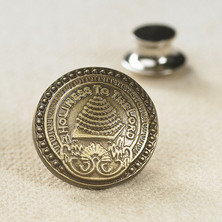 Pins - Temple Door Knob Pin(Silver) <BR>ソルトレーク神殿ドアノブ / ピンバッヂ(シルバー色)