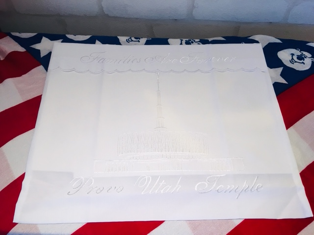 WE - Envelope - Provo Utah Temple  (Women)<BR>ローブセット袋 - プロボ神殿 【在庫限り】