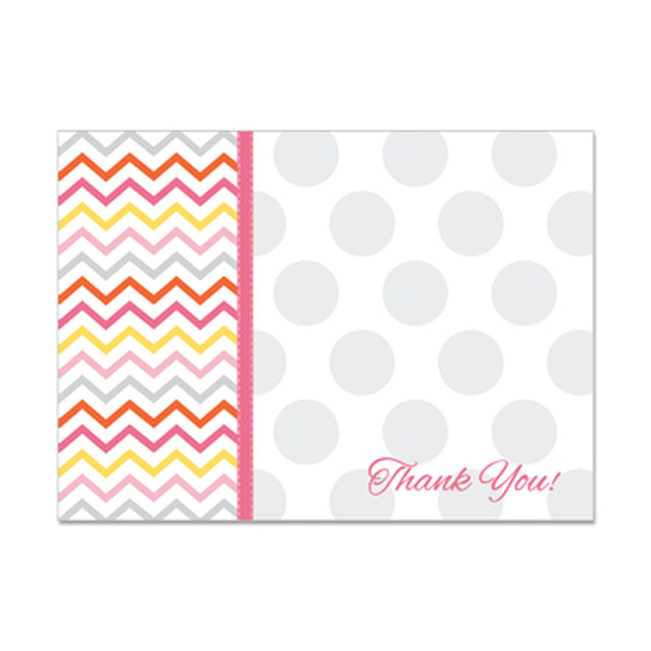 RM - Thank You Greeting Card with Dot Pattern / サンキューカード(ドット柄)【在庫限り】