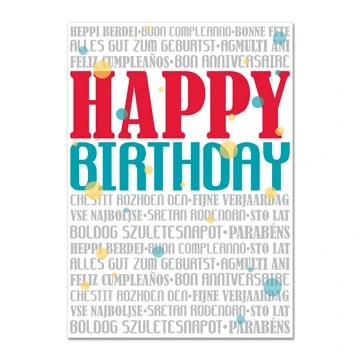 RM - Missionary GREETING CARDS -  Missionary Birthday<BR/>グリーティングカード 誕生日