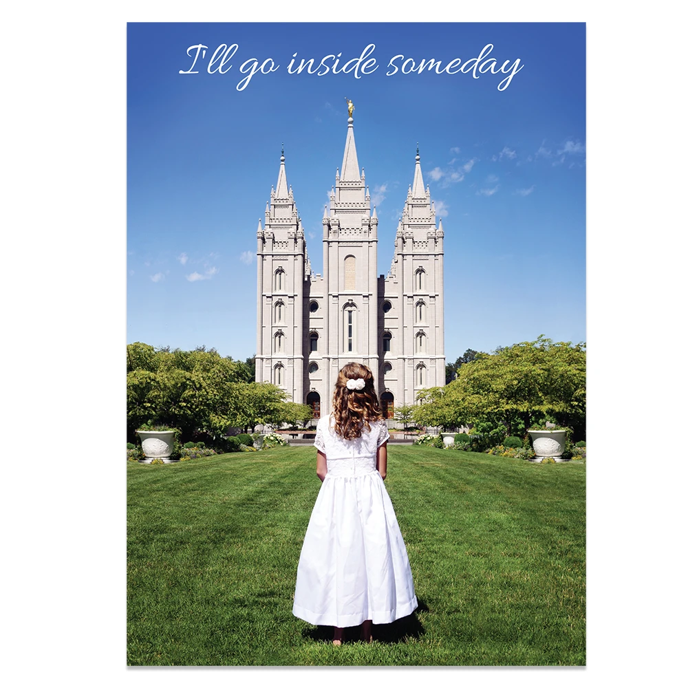 RM - Greeting Card  - . I'll Go Inside Someday <BR>カード - いつの日か入る神殿(封筒なし)