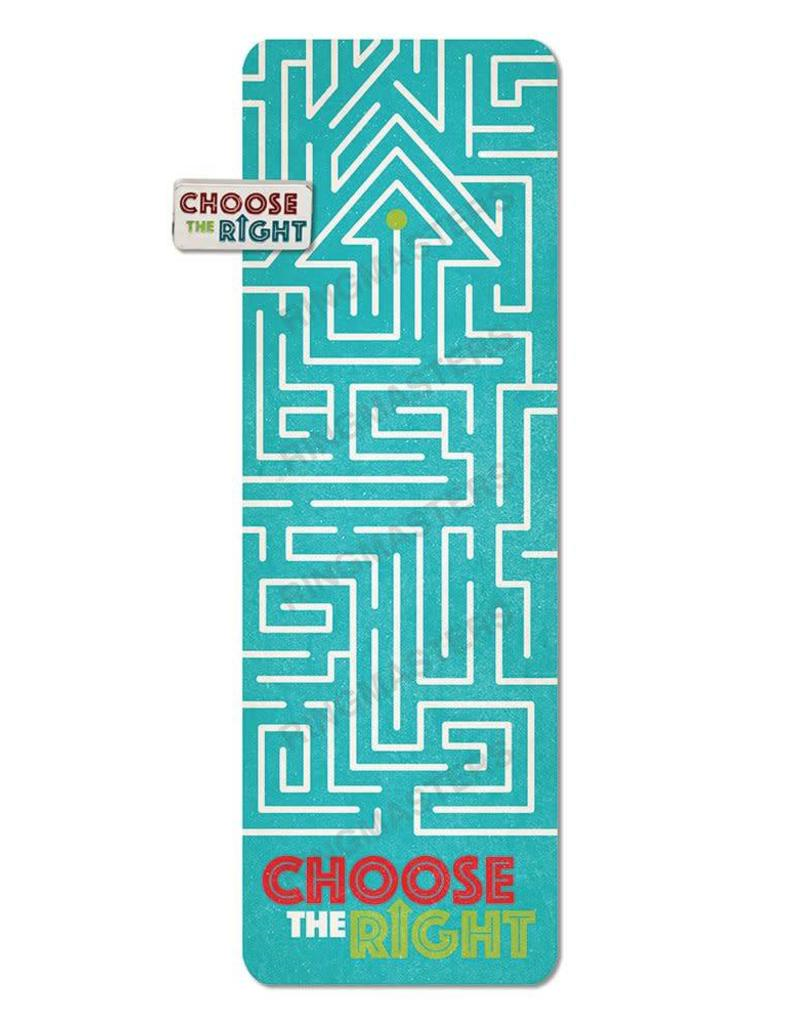 RM - Bookmark - Choose the Right Maze Bookmark and Pin Set<BR/>選べ正義を迷路しおり&ピン セット