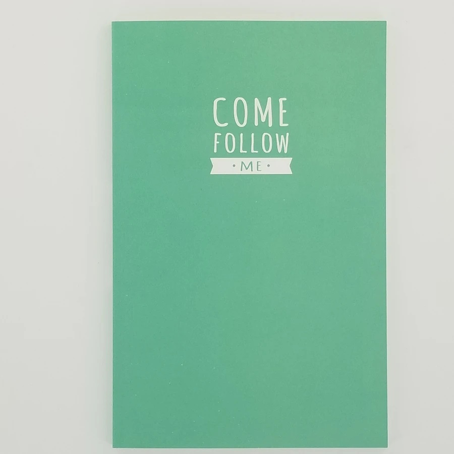 CF - Journal - Come Follow Me Journal - Teal(青緑色)<BR>「わたしに従ってきなさい」 日記帳