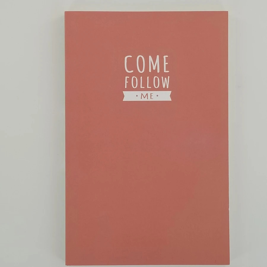 CF - Journal - Come Follow Me Journal - Pink(ピンク)<BR>「わたしに従ってきなさい」 日記帳