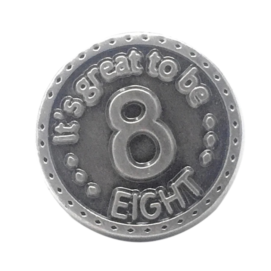 CF-Tie Tack - Great to Be 8 - Tie Tack<BR>「8才って最高!」タイピン