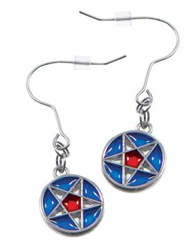 RM - Earrings - Nauvoo Star Window  Earrings<BR>ノーブースターウィンドウイヤリング