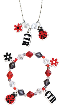 RM - Necklace - CTR Ladybug Bracelet/Necklace<BR>CTRてんとう虫ブレスレット/ネックレス