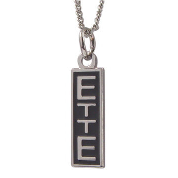 RM - Necklace - ETTE Necklace<BR>ETTEネックレス/最後まで耐え忍びなさい